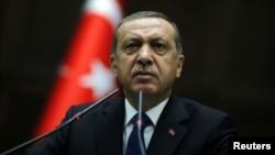 عکس آرشیوی از رجب طیب اردوغان رئیس جمهوری ترکیه