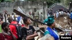 Le quartier Taouyah de Conakry a connu de violents incidents