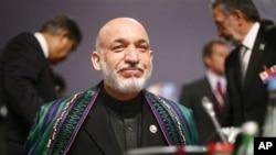 阿富汗总统卡尔扎伊11月20日出席里斯本北约峰会