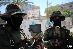 Dân quân tập kết ở ngoại ô Ramadi theo lời kêu gọi của Thủ tướng Iraq Haider al-Abadi.