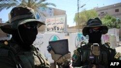 2015年5月18日,伊拉克什叶派民兵准备夺回安巴尔省首府拉马迪。