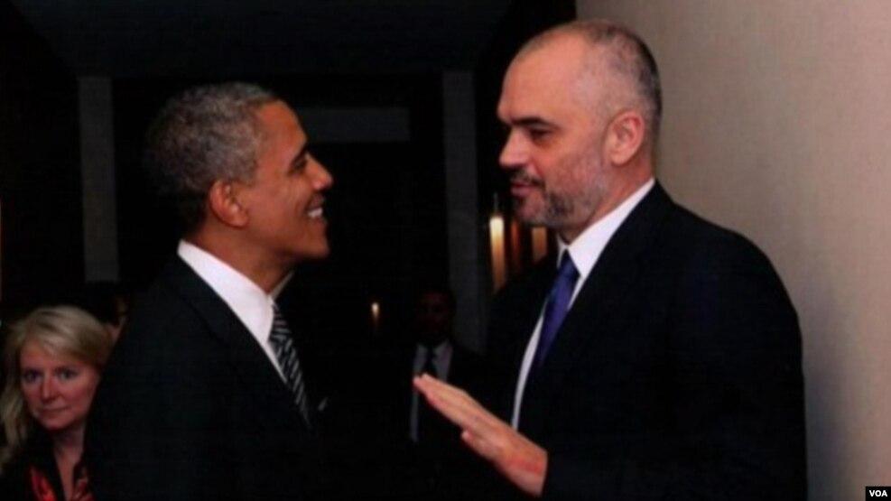 Debati për foton e Ramës me Obamën