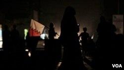 Aksi protes anti pemerintah yang berakhir dengan kekerasan di Bahrain, Kamis malam (6/10).