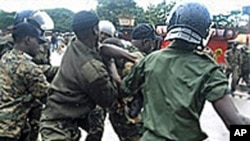 几内亚警方逮捕抗议人士