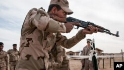 Mmoja wa askari wanajeshi wa Iraq