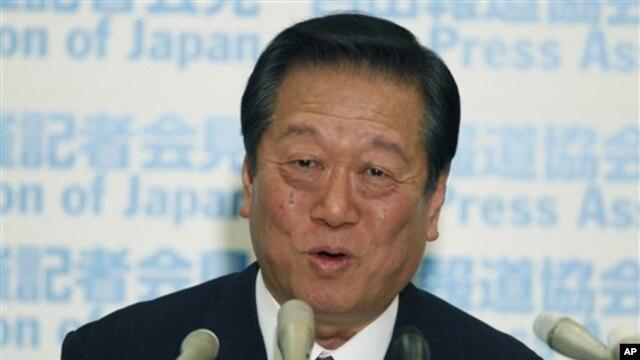 Ichiro Ozawa, tokoh politik berpengaruh di Jepang dibebaskan dari tuduhan skandal transaksi tanah tahun 2004 (Foto: dok). Ozawa bersama 48 pengikutnya memisahkan diri dari partai Demokrat dan mendirikan partai baru, Oktober 2012.