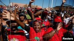 Ibandla le EFF elakwele South Africa.