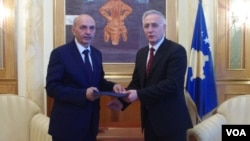 Kosova New Speaker of Parliament Mustafa