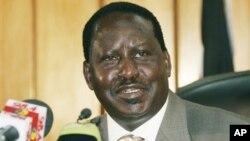 کینیا کے وزیر اعظم رائیلا اوڈنگا