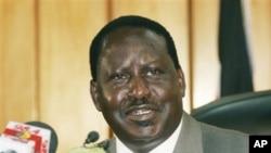 Kenyan Prime Minister Raila Odinga (file photo)