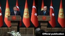 Qirg'iziston-Turkiya aloqalari