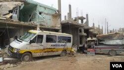 Kobani u ruševinama posle oslobođenja od Islamske države