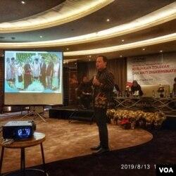 Walikota Bogor, Bima Arya. (Foto: VOA/ Sasmito)