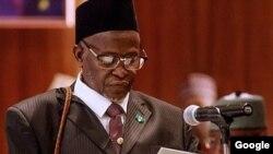 Babban alkalin Alkalan Najeriya, Muhammad Tanko.