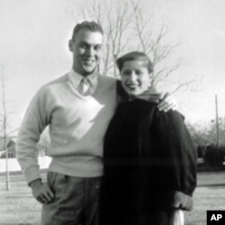Martin D. Ginsburg and Ruth Bader Ginsburg taken in the fall of 1954 when Martin Ginsburg was serving in the Army.