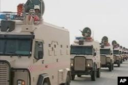 沙特军队开赴巴林