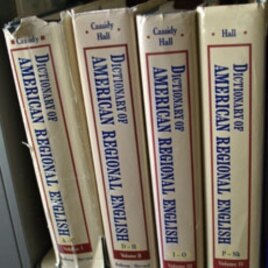 Earlier volumes of the Dictionary of American Regional English
