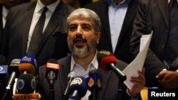 Sem compromisso. Lider do Hamas . Khaled Meshaal