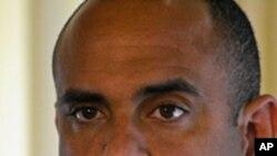 Haiti's new prime minister Laurent Lamothe (file photo).