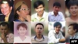 Những người trẻ Công giáo thuộc Dòng Chúa Cứu Thế thuộc nhóm 17 nhà tranh đấu nhân quyền bị bắt giam từ cuối tháng 7 năm 2011 vì bị cáo buộc vi phạm điều 79 và 88 Bộ Luật Hình sự.