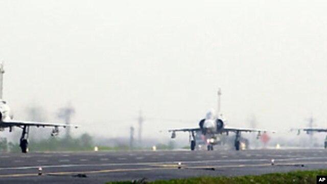 台灣在今年四月舉行空軍演習(資料圖片)