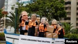 Se hunde el barco del acuerdo para el cambio climático.