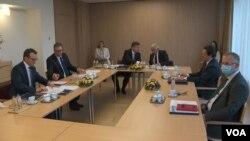 Nga takimi i fundit Kurti – Vuçic, me ndërmjetësimin e BE-së në korrik 2021