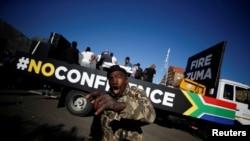 Protestos contra Zuma, cidade do Cabo, 8 de Agosto