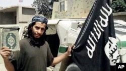 Still image of Abdelhamid Abaaoud made available in the Islamic State's English-language magazine Dabiq. (AP)