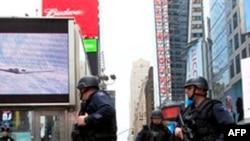 Полиция на улицах Нью-Йорка