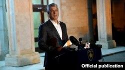 ARHIVA - Predsjednik Kosova Hašim Tači
