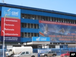 Siège de la CENI à Kinshasa (photo du 7 novembre 2011)