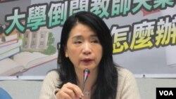 國民黨立法院黨團副書記長李貴敏(美國之音張永泰拍攝)