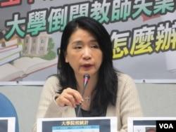 国民党立法院党团副书记长李贵敏(美国之音张永泰拍摄)