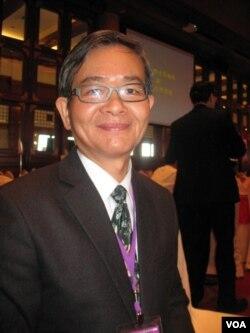 永冠能源科技集团董事长 张贤铭(美国之音申华拍摄)