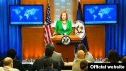 美国国务院发言人莎琪(资料照片)
