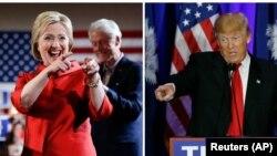 Hilarii Kilintoni fi Donald Trump