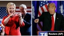 دانلد ترمپ و هیلیری کلنتن برنده انتخابات مقدماتی روز شنبه شدند.