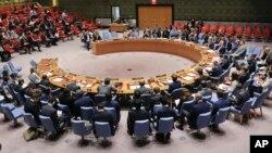 지난 9월 유엔 안보리가 긴급회의를 열고 북한의 6차 핵실험에 대응한 새 대북 제재 결의안을 논의했다.
