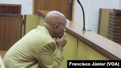 LLoyd Mabusa, condenado a oito penas de prisão perpétua por tráfico e estupro crianças na África do Sul