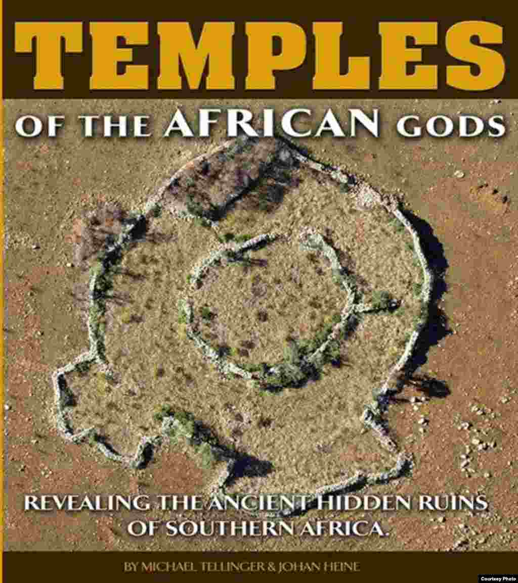 Tellinger's books on early civilization are popular reading in South Africa and elsewhere. (Courtesy Ubuntu Party)