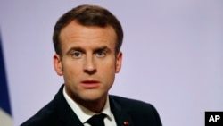 에마뉘엘 마크롱 프랑스 대통령.