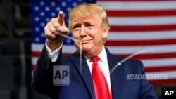 Vaive mutungamiri weAmerica, VaDonald Trump