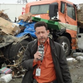 VOA's Steve Herman, reporting from Japan, Mar. 2011.