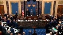 Suđenje predsedniku SAD Donaldu Trampu u Senatu