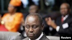 中非共和国总统博齐泽(资料照片)