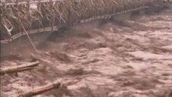 بارش باران های سنگين درجنوب غربی چين