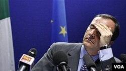 Menteri Luar Negeri Italia Franco Frattini