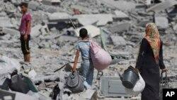 Gaza, 1. augusta 2014.