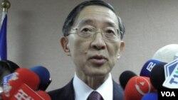 台湾外长林永乐3月18日在立法院(申华拍摄)
